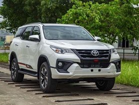 First Real World Images of 2020 Toyota Fortuner TRD Limited Edition Surface Web
