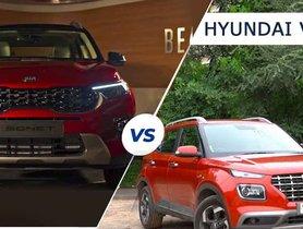 Kia Sonet vs Hyundai Venue - Design Comparison of Non-identical Korean Twins [VIDEO]