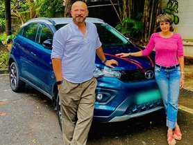 Actress Mandira Bedi Buys Tata Nexon EV - The First Indian Electric SUV