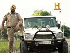 Mahindra Bolero Modified To Fit India's Tallest Cop