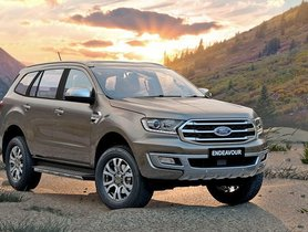 Ford Endeavour Prices Hiked By Up To Rs 1.2 Lakh, Range Now Starts At Rs. 29.99 Lakh