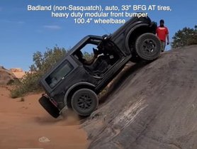 Check Out Ford Bronco vs Jeep Wrangler in an Off-Road Challenge