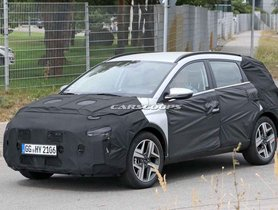 New Hyundai i20-based Crossover Snapped For First Time
