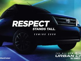 New Teaser of Toyota Urban Cruiser Reveals More Details