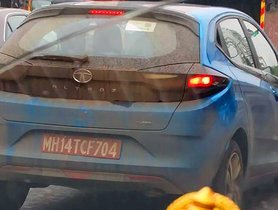 Tata Altroz Turbo Petrol Spotted Sans Camouflage