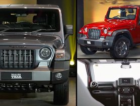 2020 Mahindra Thar LX and Thar AX Revealed - Launch Date, Specs, Features, Colours & More