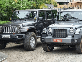 All-new Mahindra Thar a Copy of Jeep Wrangler? - These Pics Reveal the TRUTH