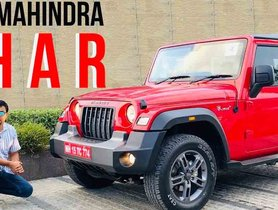 2020 Mahindra Thar Exterior and Interior Review in Walk-Around Video