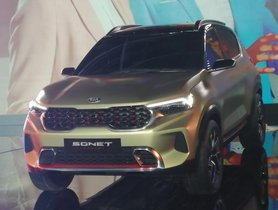 All-new Kia Sonet Gets the BEST-in-Class Ground Clearance