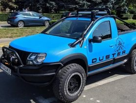 This Modified Renault Duster Is An Uber Cool Pickup