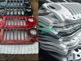 M&M Dealers Stock Up On Replica Jeep Grille for New Mahindra Thar