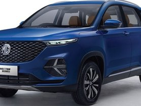 MG Hector, Hector Plus and ZS EV Available Via Subscription Plans from Zoomcar