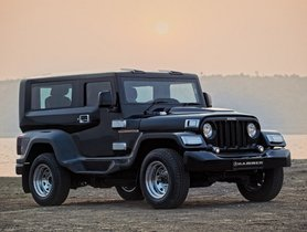 DC Hammer Modification Package for Mahindra Thar Available at Rs 5.95 Lakh