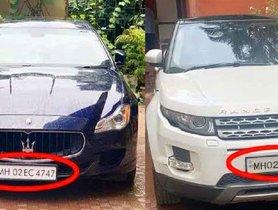 Sushant's Range Rover Evoque & Maserati Quattroporte Now In His Father's Custody