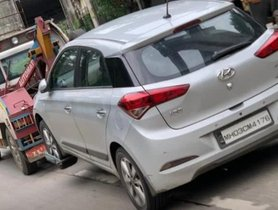 Hyundai Elite i20 Hits Massive Pothole, Repairs Cost Rs. 40,000