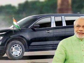 Tata Harrier VIP Limousine Rendered - Perfect for PM Modi?