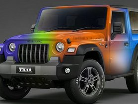 2020 Mahindra Thar Reimagined In Various Bright Colour Shades