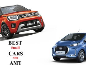 Datsun redi-GO to Maruti Ignis - Best Hatchback Cars with AMT under 6 lakhs