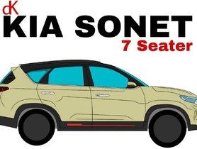 7-seater Kia Sonet Imagined Thru a Vector Drawing