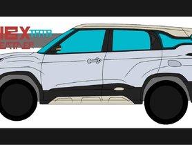 7-seater Tata HBX Imagined Via Vector Art