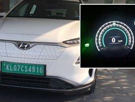 Hyundai Kona Travels 400 Kms On One Full Charge