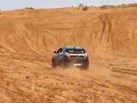This Tata Nexon Easily Climbs Up A 20 Feet Sand Wall