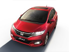 BS-6 Honda Jazz Launched, Gets Sunroof and Other Segment-First Features