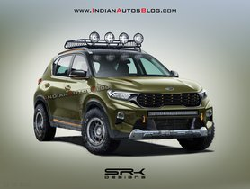 Kia Sonet Rendered In X-Line Avatar - More Rugged Than Seltos X-Line