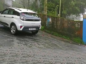 2020 Tata Nexon Used To Demonstrate How ESP And Traction Control Work
