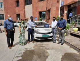Several Tata Tigor EVs Delivered To Ministry Of AYUSH