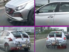 New Hyundai i20 Spied Undergoing ARAI Tests Ahead Of Launch