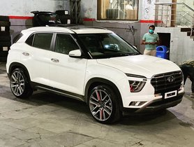 This 2020 Hyundai Creta Is Fitted With Humongous 20-inch Rims
