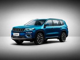 2021 Jeep Compass 5 Seater & 7 Seater SUV Digitally Visualised