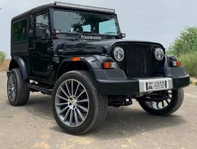 This Mahindra Thar Looks RIDICULOUS with MASSIVE Mercedes Rims
