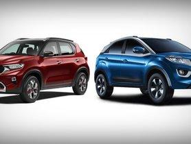 Kia Sonet vs Tata Nexon- Features & Specs Comparison