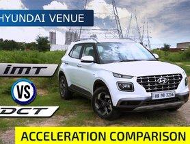 Hyundai Venue 1.0 Turbo Acceleration Review: iMT vs DCT