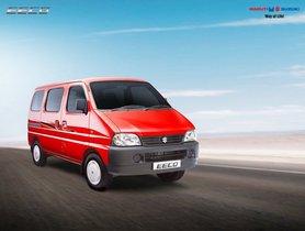 Maruti Eeco Crosses 7 Lakh Sales Milestone