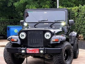 Heavily-customized Mahindra Thar On Sale, Looks Butch