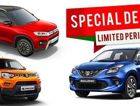 Maruti Suzuki September 2020 Car Offers & Discounts - Baleno to Brezza