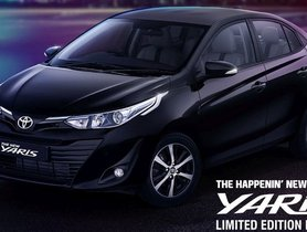 Toyota Yaris Limited Edition Black To Launch Soon, Bookings Open