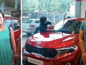 Check out PUBLIC REACTION on Kia Sonet at Dealership – VIDEO