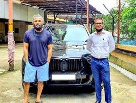 New BMW X5 Acquired by Suniel Shetty