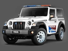 2020 Mahindra Thar Police Car Imagined - VIDEO