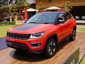 Jeep Compass Offered With Discounts Of Up To INR 2 Lakh