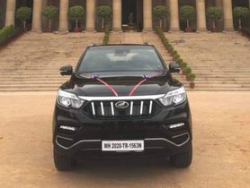 First 2020 Mahindra Alturas G4 BS6 Delivered To President Of India