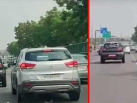 Kia Sonet Spotted Running Alongside Old Hyundai Creta