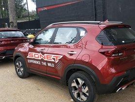 Kia Sonet Test Drive Vehicles Reach Dealerships