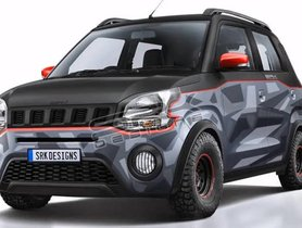 Maruti WagonR Rendered Into A Crossover