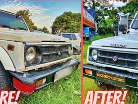 This Police Maruti Gypsy Has Been Elegantly Restored [Video]