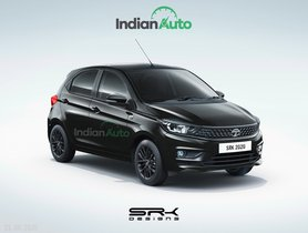 Tata Tiago Dark Edition Rendered - Looks Gorgeous, Doesn't It?